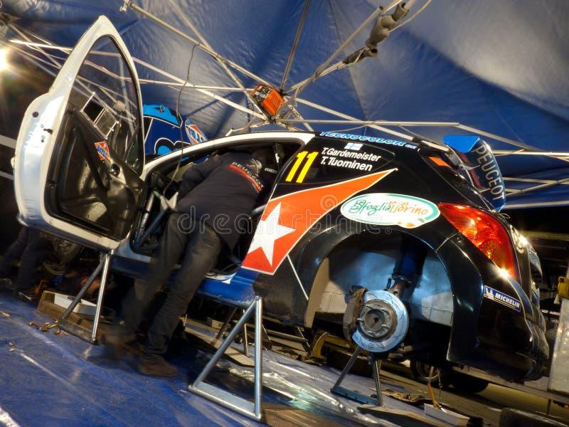 Download IRC 2011 - GARDEMEISTER / TUOMINEN - Peugeot 207 Editorial Stock Photo - Image: 17921743