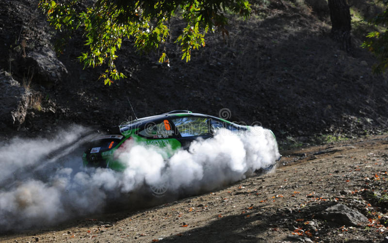 Download IRC, Cyprus Rally 2012 editorial image. Image of action - 27539585