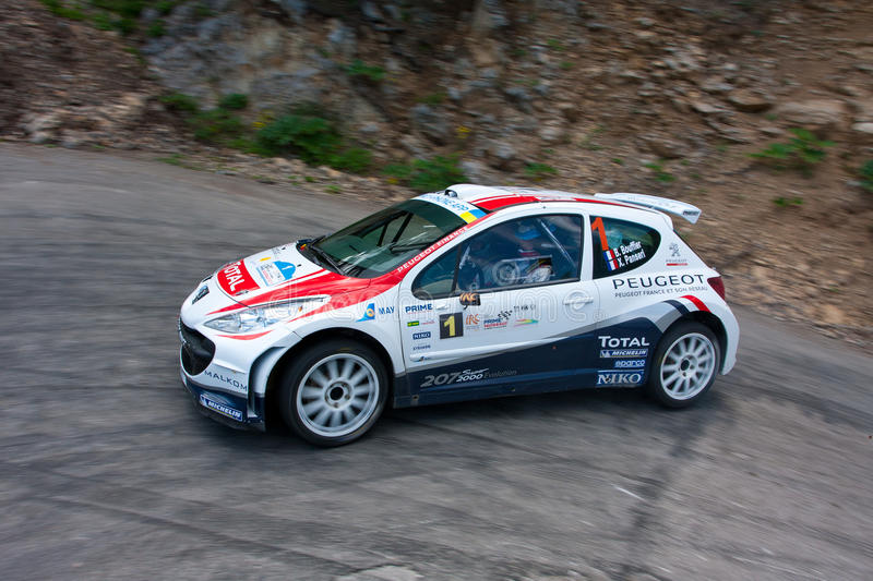 Download IRC PRIME Yalta Rally editorial photography. Image of action - 24032377