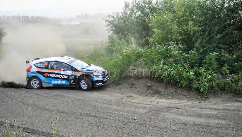 Download IRC RALLY SIBIU SSS12 SUPERSPECIAL Editorial Photography - Image: 26558357
