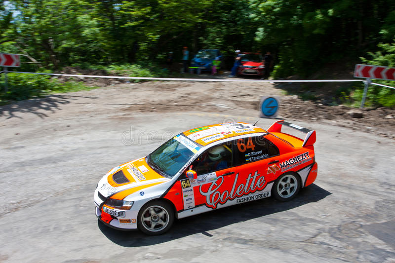 Download IRC Yalta Prime Rally 2011 editorial photo. Image of competitive - 19822546