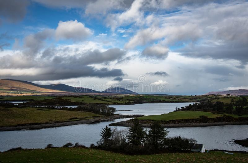 Idyllic Irish Countryside royalty free stock images
