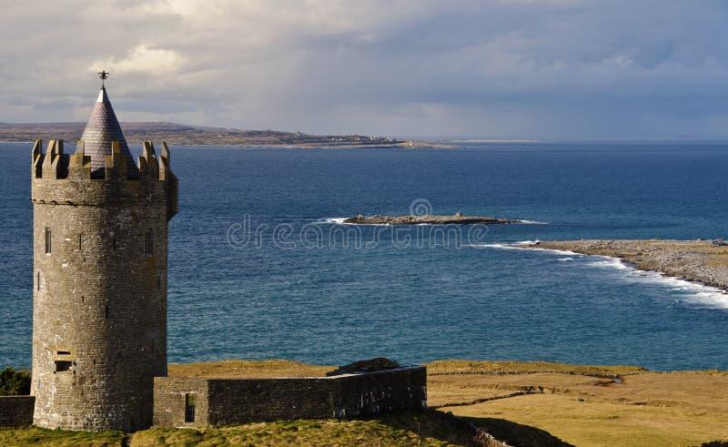 Download Ireland Antyczny Grodowy Zachód Irlandzki Stary Obraz Stock - Obraz złożonej z architektury, ocean: 13330149