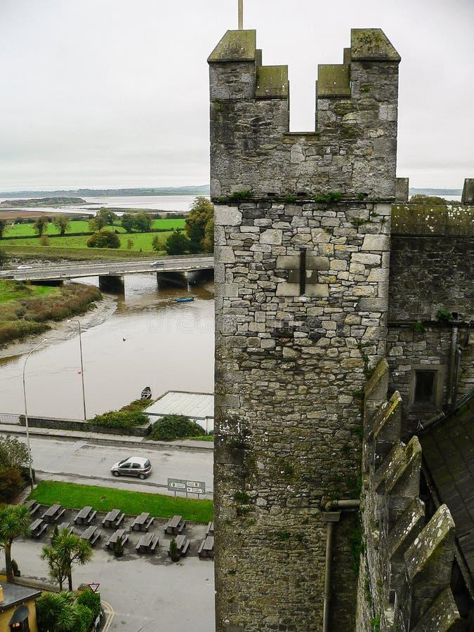 ireland Castelo de Bunratty & parque dos povos imagens de stock