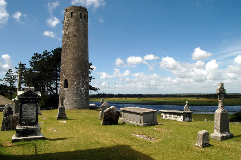 Ireland - Clonmacnoise imagem de stock royalty free
