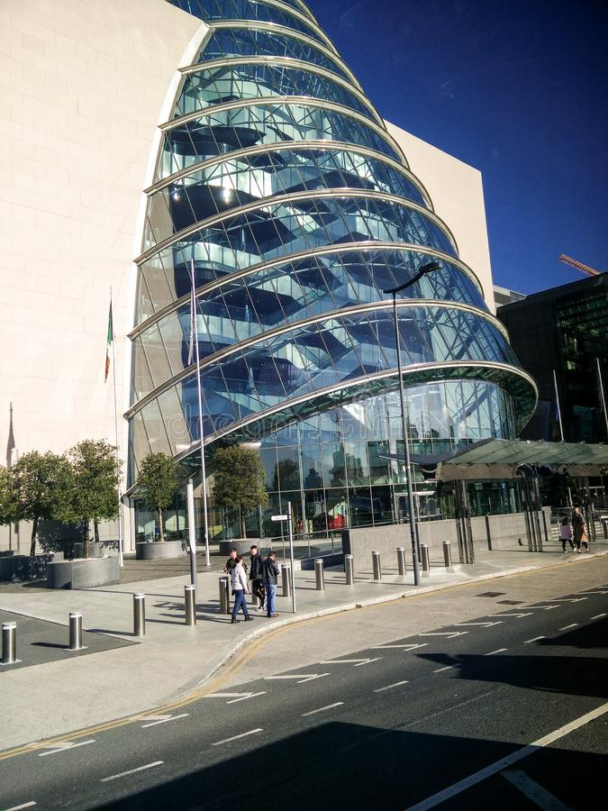 Ireland. Dublin. Modern Urban Architecture stock photo