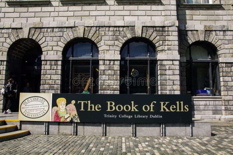 Ireland. Dublin. Trinity College stock photos