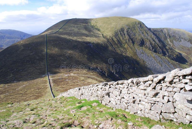 ireland gór mourne północny fotografia stock