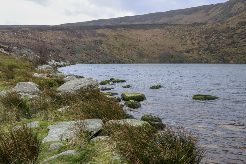 ireland lake berg natur arkivbilder