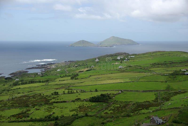 ireland liggande arkivfoton