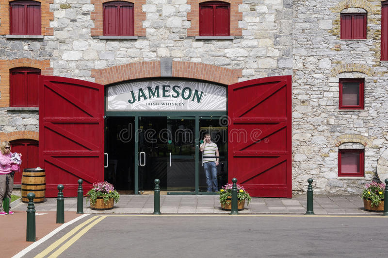 Ireland. Midleton. The Jameson Experience royalty free stock photo