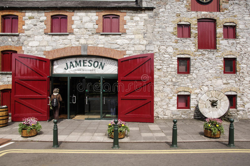 Ireland. Midleton. The Jameson Experience stock photography