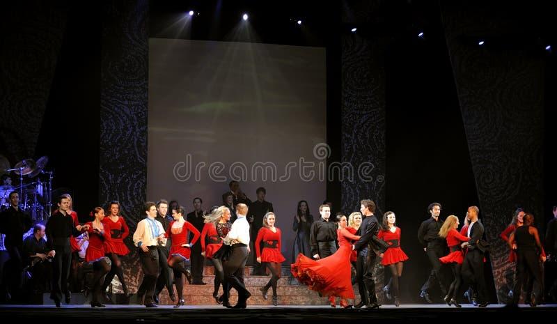 ireland riverdance zdjęcie stock
