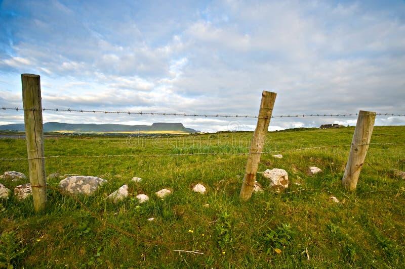 Ireland rural imagem de stock