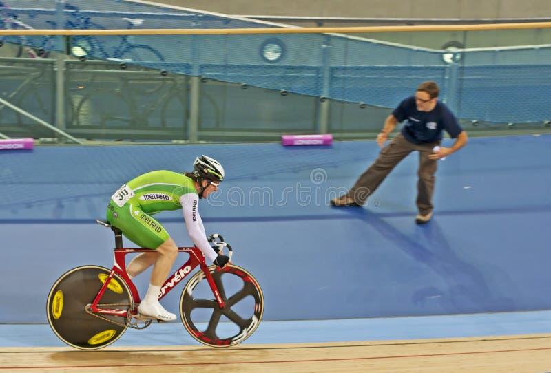 Ireland's Cyclist Martyn Irvine. Ireland's Olympic hopeful Martyn Irvine stock photos