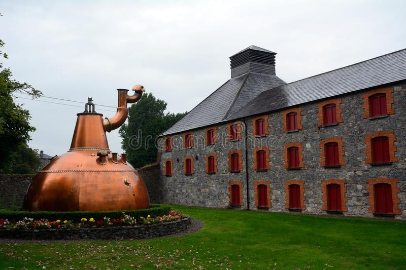 Whiskey distillery, Midleton, Ireland stock images