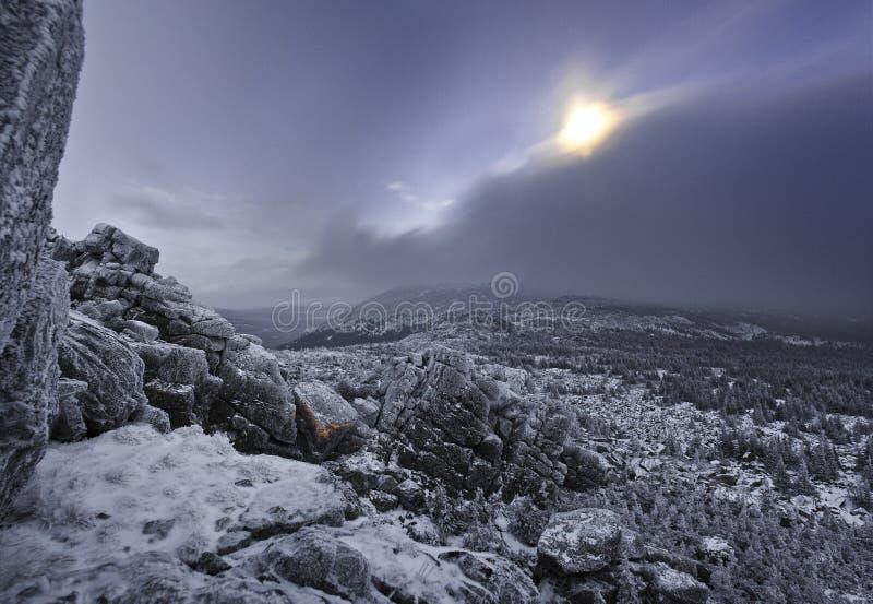 Iremel mountain royalty free stock photos