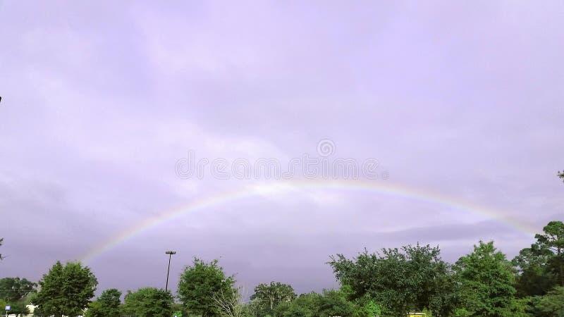 Irgendwo über dem Regenbogen stockfotos