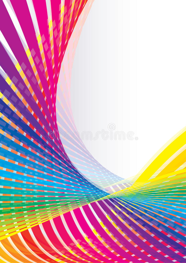 Iridescent Template Stock Photography