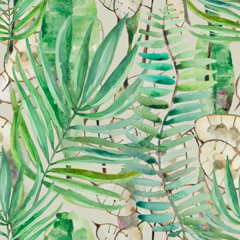 Iris de floraison en plan rapproché Une fleur est faite dans l'aquarelle sur un fond blanc illustration libre de droits