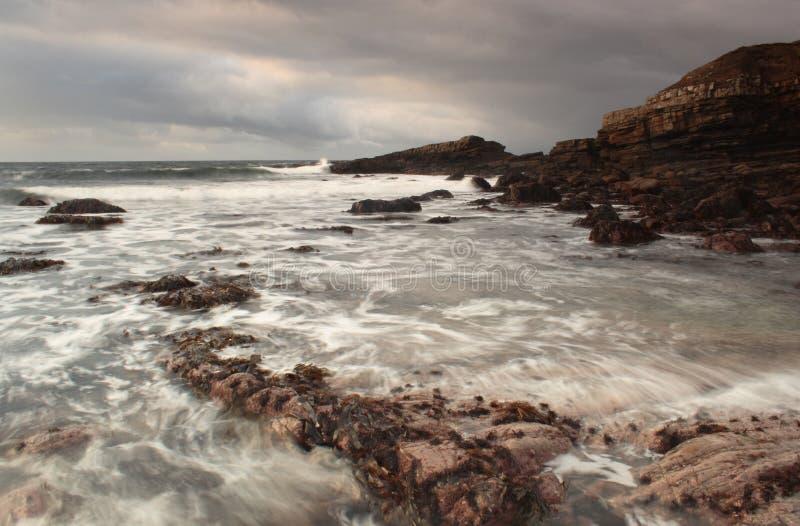 Irische atlantische Küste stockbild