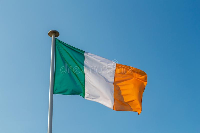 Irische Flagge lizenzfreie stockfotografie