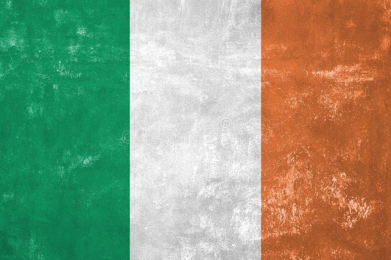 Irische Flagge stockbilder
