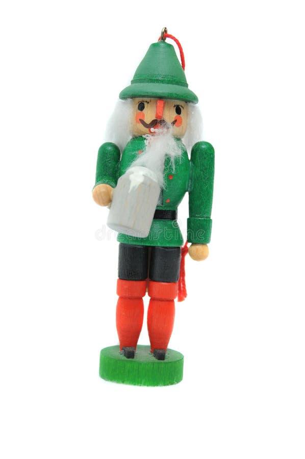 Irische Koboldweihnachtsverzierung stockbilder