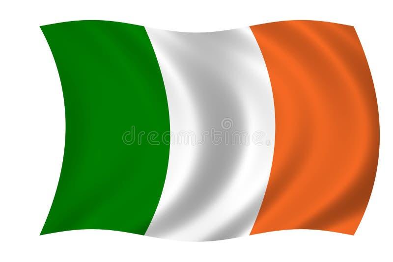 irische Markierungsfahne lizenzfreie abbildung