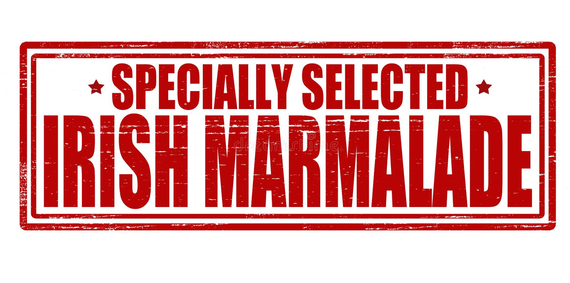 Irische Marmelade lizenzfreie abbildung