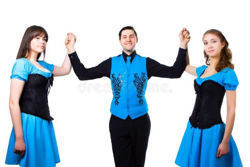 Irische Tänzer lizenzfreie stockbilder