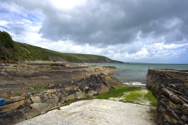 Irischer Strand lizenzfreies stockbild