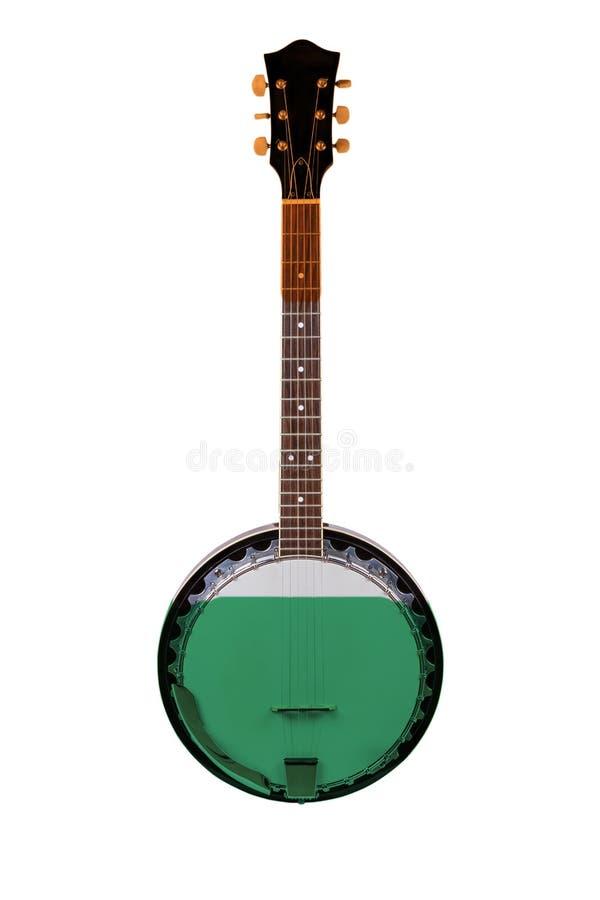 Irisches Banjo lizenzfreie stockbilder