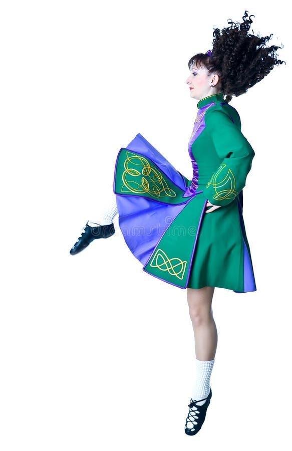 Irisches Tanzen stockbilder