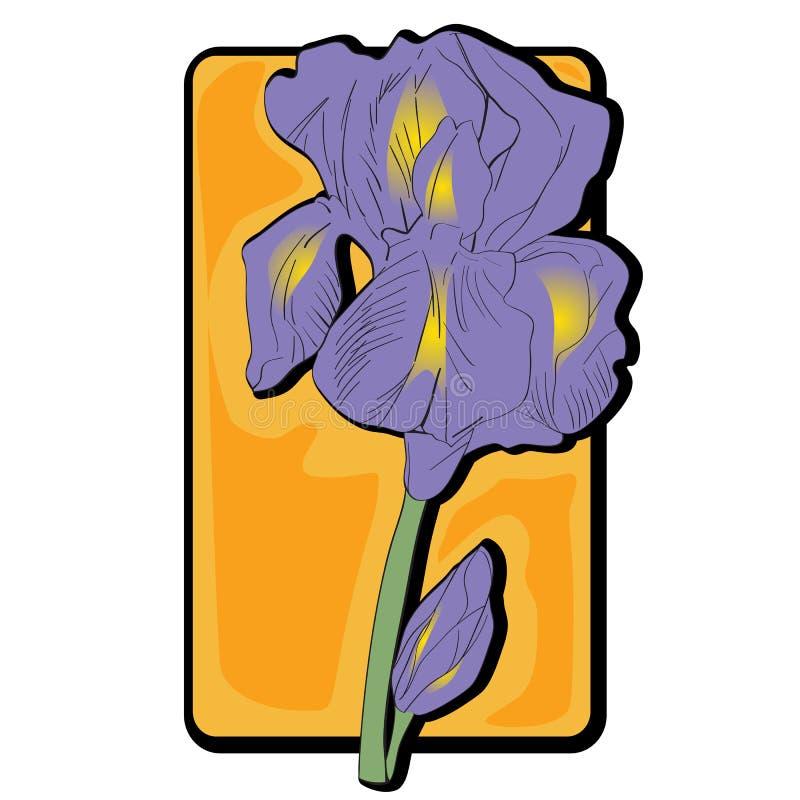 Irisclipart lizenzfreie abbildung