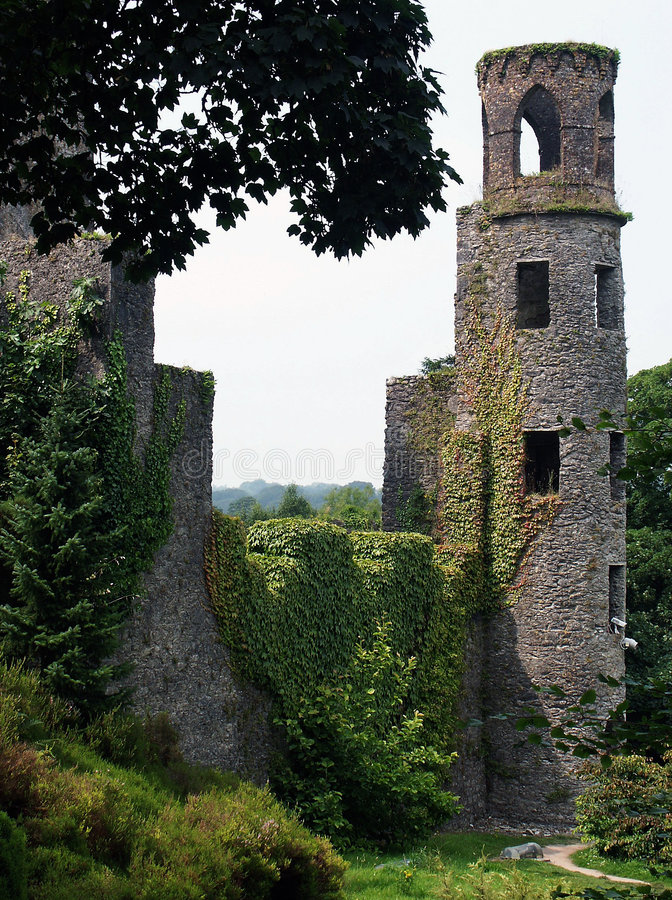 irish замока стоковая фотография rf
