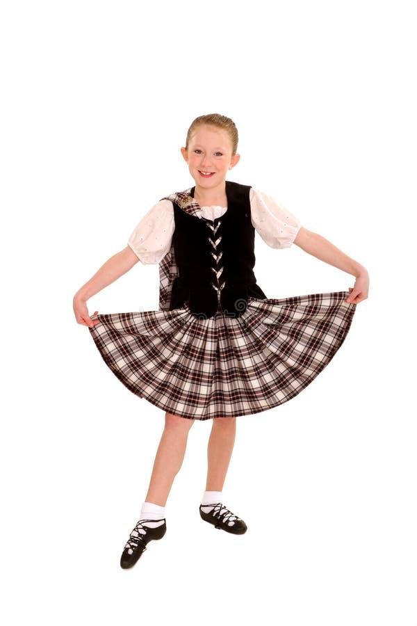 irish танцора стоковая фотография