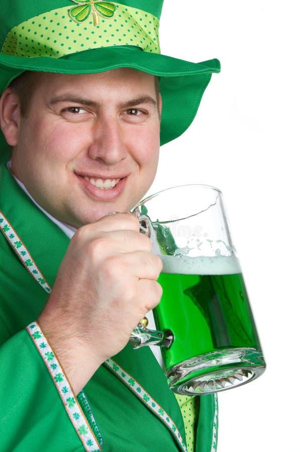 Irish Beer Man. St patricks irish beer man stock photography