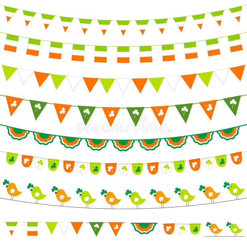 Irish bunting set