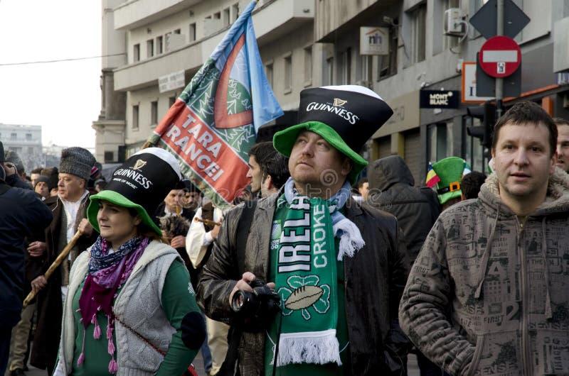 Download Saint Patricks Day In Bucharest 5 Editorial Photo - Image: 29866061