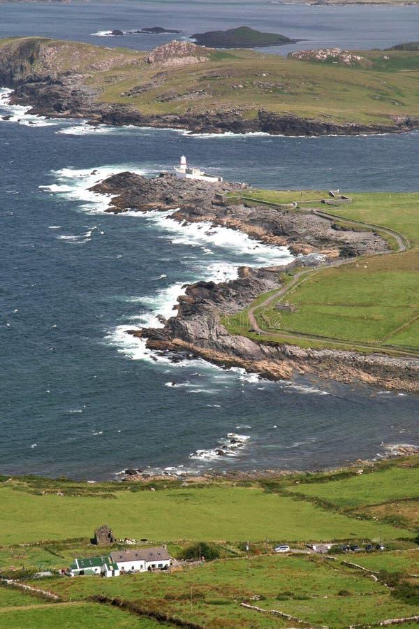 Irish coast. Al scenery in County Kerry royalty free stock images