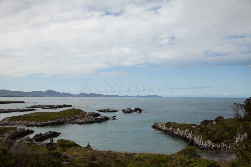 Irish coast stock photo