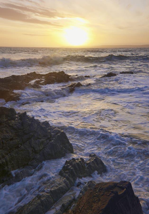 Download Irish Coastline stock image. Image of landscape, sunset - 12820311