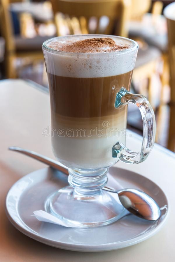 irish coffee cup royalty free stock image