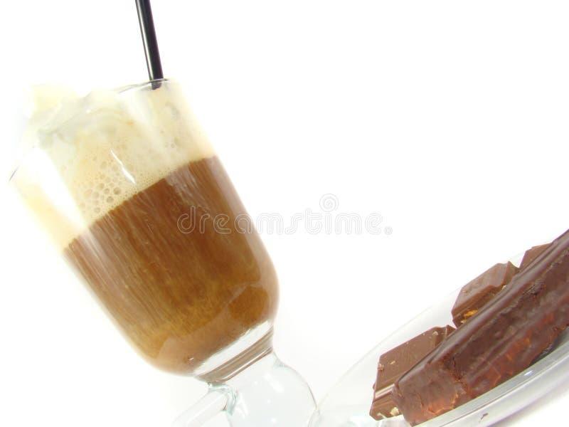 Irish coffee and sweets stock photo