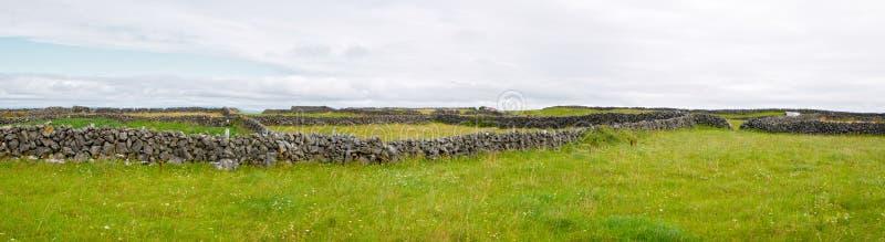 Irish countryside stock photo