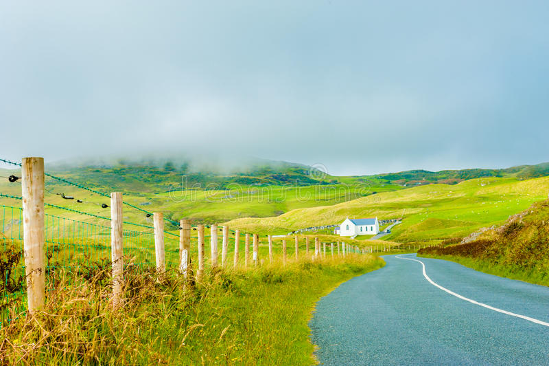 Irish countryside stock photography