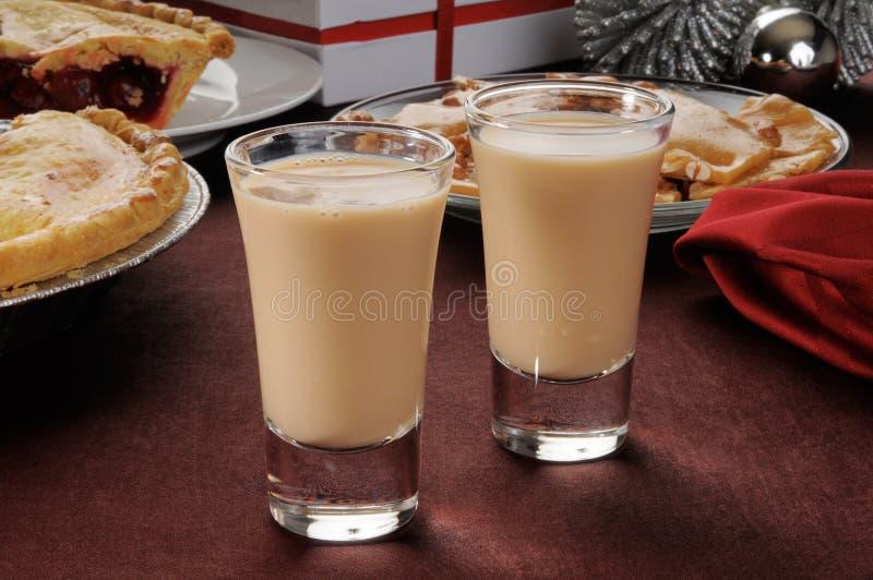 Irish cream shooters stock images