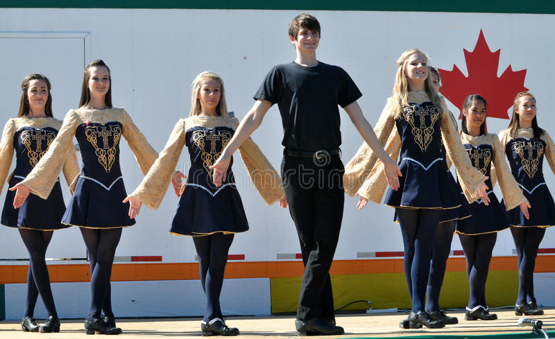 Download Irish Dancers editorial stock image. Image of edmonton - 28799679