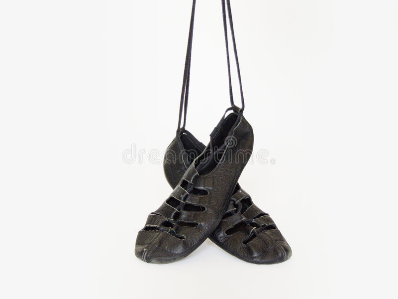 Irish Dancing Softshoes Stock Photography